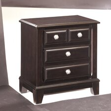 Ridgley 3 Drawer Nightstand