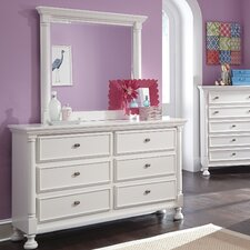 Kaslyn 6 Drawer Dresser