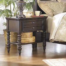 Key Town 1 Drawer Nightstand