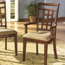 Cross Island Arm Chair
