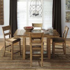 Krinden 5 Piece Counter Height Dining Set