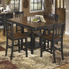 Owingsville 5 Piece Counter Height Dining Set