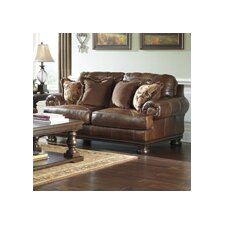 Hutcherson Leather Loveseat