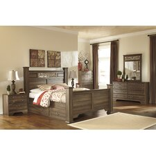 Allymore Panel Bedroom Collection