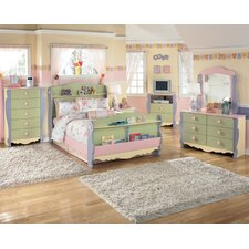 Doll House Kids Sleigh Bedroom Collection