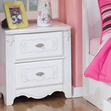 <strong>Signature Design by Ashley</strong> Lydia 2 Drawer Nightstand