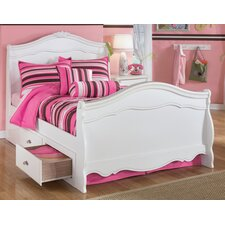 Lydia Storage Sleigh Bed