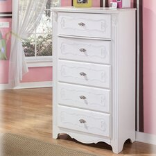 <strong>Signature Design by Ashley</strong> Lydia 5-Drawer Chest
