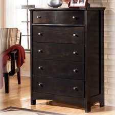 <strong>Signature Design by Ashley</strong> Menard 5 Drawer Chest