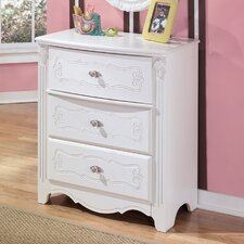 Lydia 3-Drawer Chest
