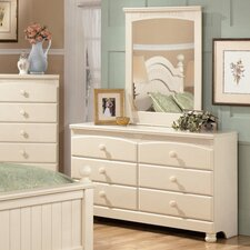 Carey 6 Drawer Dresser