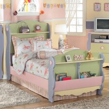 <strong>Signature Design by Ashley</strong> Harper Twin Sleigh Bed in Multicolored Pastel
