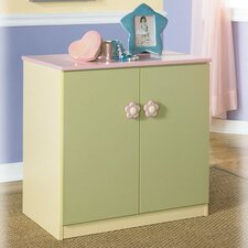 "Harper Loft Two Door 27.99"" Book Cabinet"