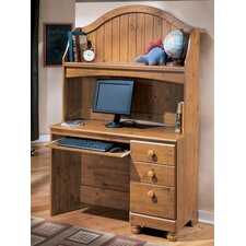 "Elsa 45"" W Computer Desk and Hutch"