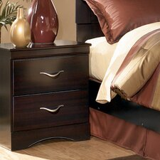 Byers 2 Drawer Nightstand