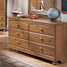 <strong>Signature Design by Ashley</strong> Elsa 6 Drawer Dresser