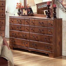 <strong>Signature Design by Ashley</strong> Oakridge 8 Drawer Dresser