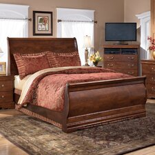 <strong>Signature Design by Ashley</strong> Kimball Sleigh Bed