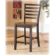 "Barlow 24"" Bar Stool in Two-Tone"