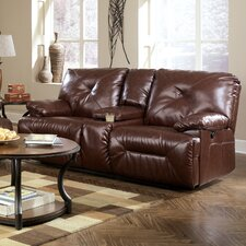 Bunkerville Power Double Reclining Loveseat with Console