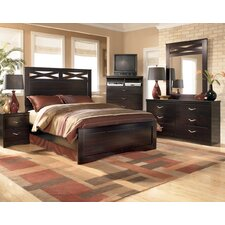 <strong>Signature Design by Ashley</strong> Byers Panel Bedroom Collection