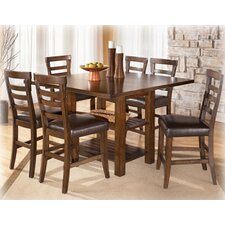 Oxbow 7 Piece Counter Height Dining Set