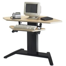 "VariTask E-Series Dual Surface Corner Unit 42"" W x 30"" D Computer Table"