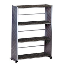 "Accent 44.5"" H Four Shelf Shelving Unit"