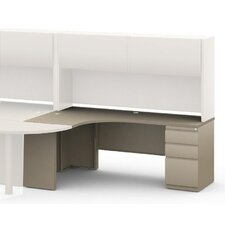 """J"" 30"" H x 72"" W Left Desk Return"