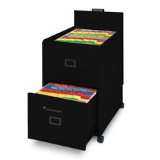 2-Drawer Mobile Letter Size File