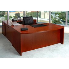 Mira Series U-Shape Executive Desk Typical #7
