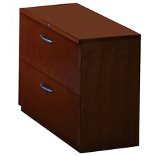Corsica Series 2-Drawer Lateral File for Credenza / Return