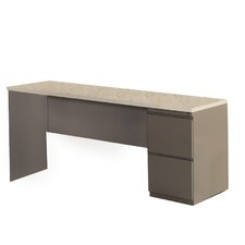 Computer Desk with 1 Pedestal