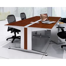 "48"" W x 60"" D Dual-Sided Computer Table"