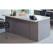 Executive Desk with 2 Pedestals