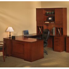 Sorrento Series Typical #3 Standard Desk Office Suite