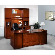 Sorrento Series Typical #14 Standard Desk Office Suite
