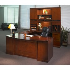Sorrento Series Typical #5 Standard Desk Office Suite
