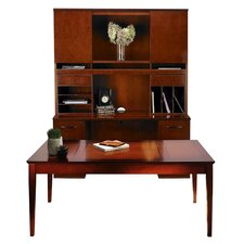 Sorrento Series Typical #17 Standard Desk Office Suite