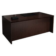 Mira Series Executive Desk with Straight Front