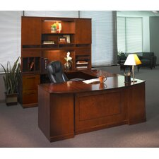 Sorrento Series Typical #6 Standard Desk Office Suite