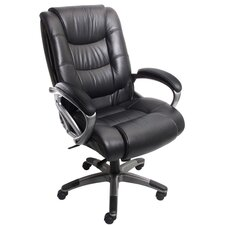 Series 500 High-Back Leather Office Chair