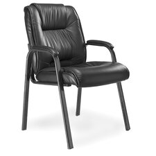 Series 100 High-Back Leather Guest Chair