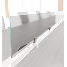 "11.5"" H x 42"" W Left to Right Desk Screens"
