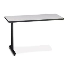 "T-Mate 29"" H x 48"" W Left Desk Return"