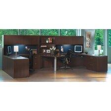 Aberdeen Series U-Shape Desk Office Suite