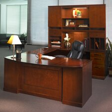 Sorrento Series Typical #1 Standard Desk Office Suite