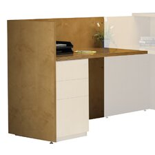 "Luminary Series 29"" H x 48"" W Desk Return"
