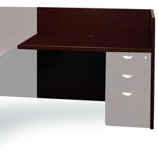 "Mira Series 29.38"" H x 48"" W Desk Return"