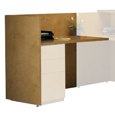 "Luminary Series 42"" H x 48"" W Desk Return"
